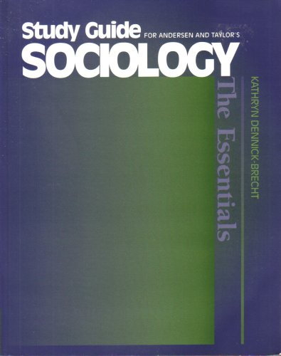 Sociology Understanding a Diverse Society  2001 9780534566982 Front Cover