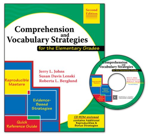 Comprehension and Vocabulary Strategies For the Elementary Grades 2nd 2006 (Revised) edition cover