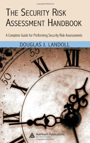 Security Risk Assessment Handbook A Complete Guide for Performing Security Risk Assessments  2006 edition cover