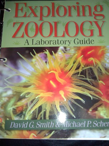 Exploring Zoology A Laboratory Guide  2009 edition cover