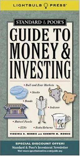 Standards and Poor's Guide to Money and Investing   2006 edition cover