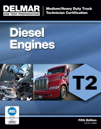 ASE Test Preparation - T2 Diesel Engines  5th 2012 edition cover