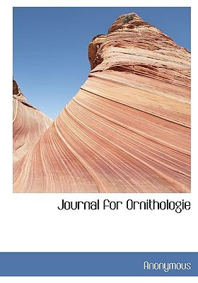 Journal for Ornithologie  N/A edition cover
