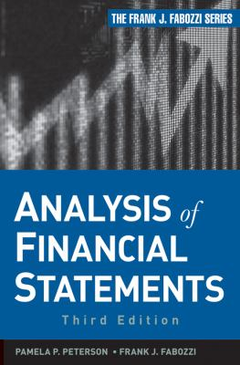 Analysis of Financial Statements  3rd 2012 edition cover