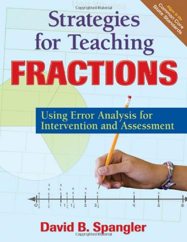 Strategies for Teaching Fractions Using Error Analysis for Intervention and Assessment  2011 edition cover