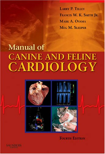 Manual of Canine and Feline Cardiology  4th 2008 edition cover