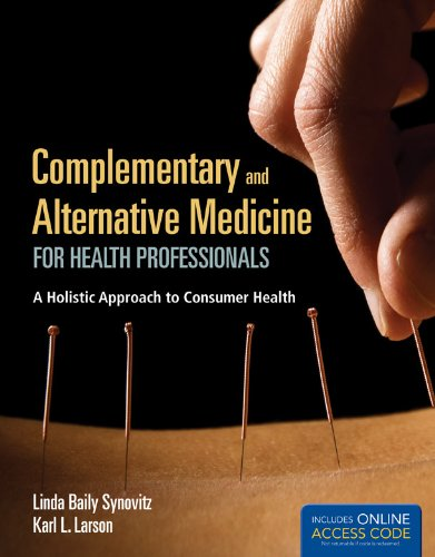Complementary and Alternative Medicine for Health Professionals   2013 edition cover