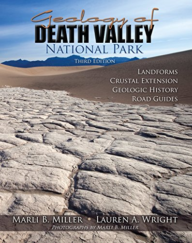 Geology of Death Valley Landforms Crustal Extension Geologic History Road Guides 3rd 2015 (Revised) edition cover