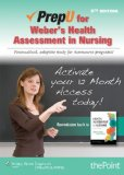 Prepu for Weber's Health Assessment Nursing Personalized, Adaptive Study for Assessment Programs! 5th edition cover
