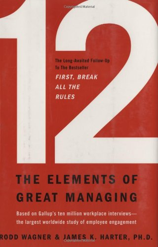 12 The Elements of Great Managing  2006 edition cover