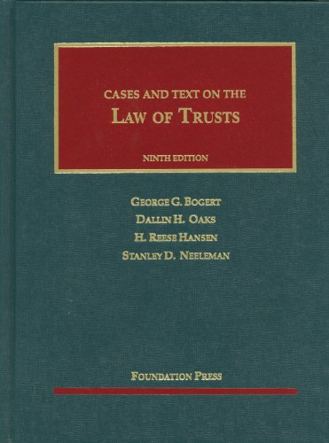 Law of Trusts  9th 2012 (Revised) edition cover