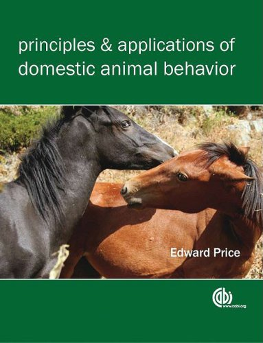 Principles and Applications of Domestic Animal Behavior   2008 edition cover