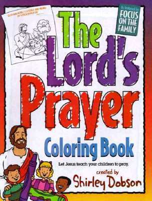 Lord's Prayer Coloring Book Let Jesus Teach Your Children to Pray  1995 9782511608982 Front Cover