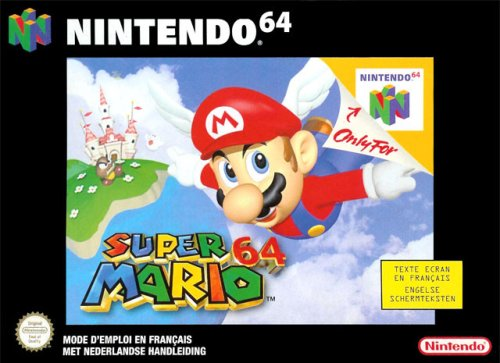 Super Mario 64 Nintendo 64 artwork