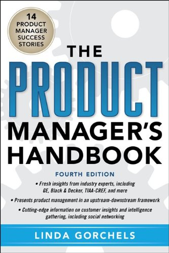Product Manager's Handbook  4th 2012 edition cover