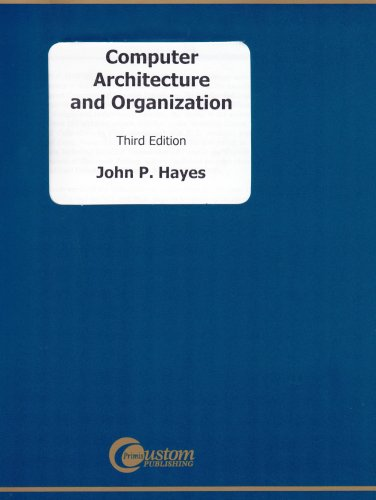 Computer Architecture and Organization  3rd 2002 edition cover