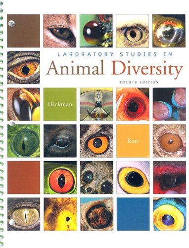 Laboratory Studies in Animal Diversity  4th 2007 edition cover