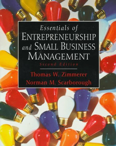 Essentials of Entrepreneurship and Small Business Management  2nd 1998 edition cover