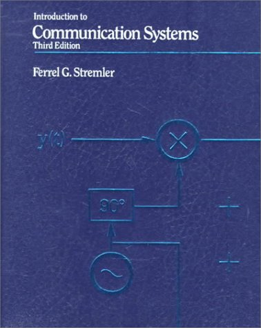Introduction to Communication Systems  3rd 1990 (Revised) edition cover