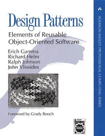 Design Patterns Elements of Reusable Object-Oriented Software  1998 edition cover