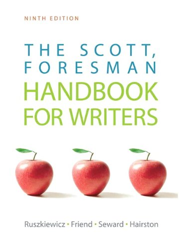 Scott, Foresman Handbook for Writers  9th 2011 edition cover