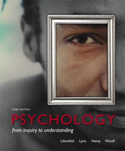 Psychology From Inquiry to Understanding 3rd 2014 edition cover
