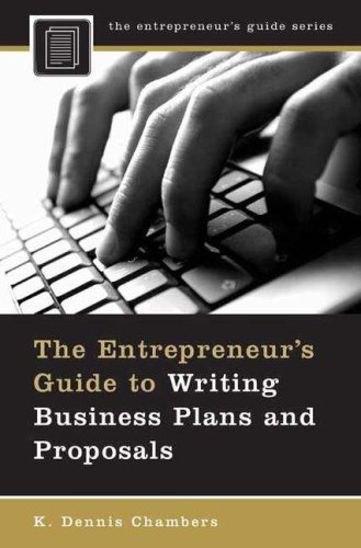 Entrepreneur's Guide to Writing Business Plans and Proposals   2007 edition cover