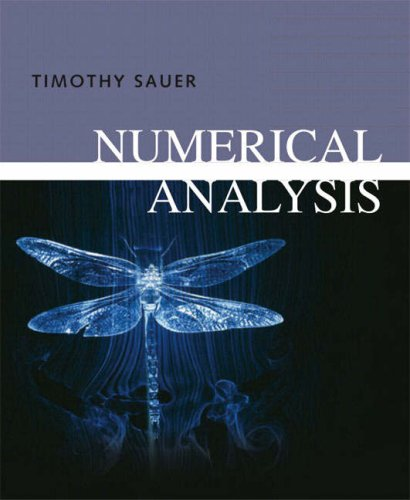 Numerical Analysis   2006 edition cover