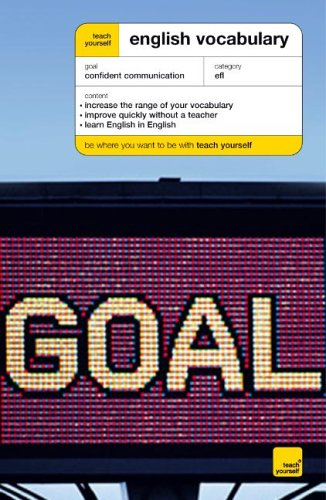 Teach Yourself English Vocabulary (Teach Yourself Languages) N/A edition cover