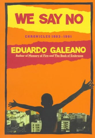 We Say No Chronicles, 1963-1991  1992 edition cover