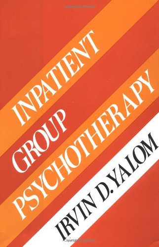 Inpatient Group Psychotherapy  N/A edition cover