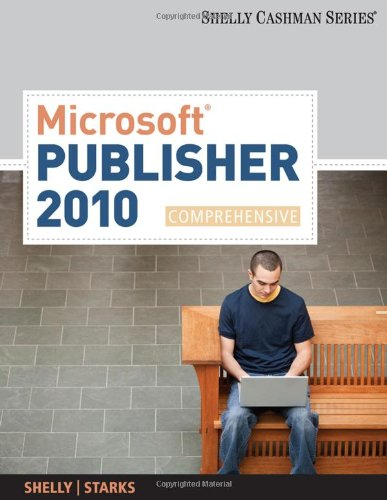 Microsoft� Pubisher 2010 Comprehensive  2012 edition cover