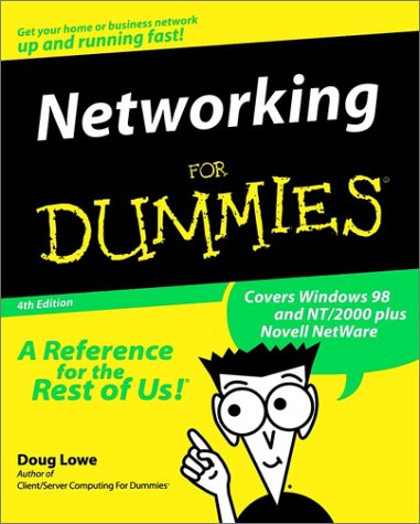 Networking for Dummies  4th 1999 9780764504983 Front Cover