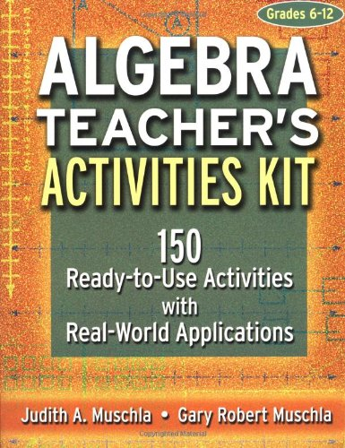 Algebra 150 Ready-to-Use Activities with Real-World Applications  2003 edition cover