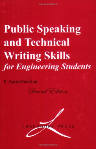 Public Speaking and Technical Writing Skills for Engineering Students 1st 2007 (Expanded) edition cover