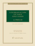 Louisiana Law of Sale and Lease A Pr�cis 2nd 2011 edition cover