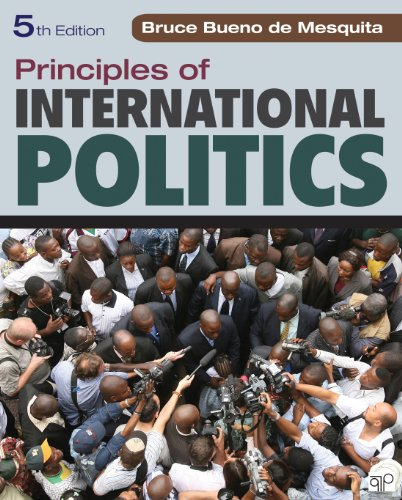 Principles of International Politics: War, Peace, and World Order  2013 edition cover