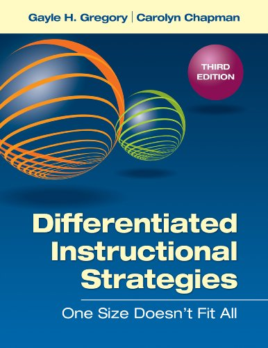 Differentiated Instructional Strategies On Size Doesn't Fit All 3rd 2013 edition cover