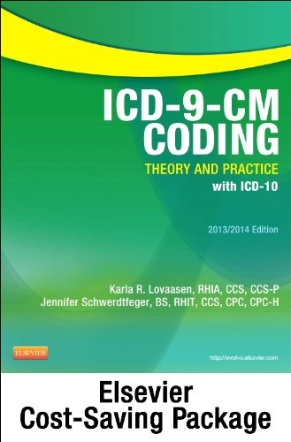 ICD-9-CM Coding 2013/2014 Theory and Practice N/A edition cover