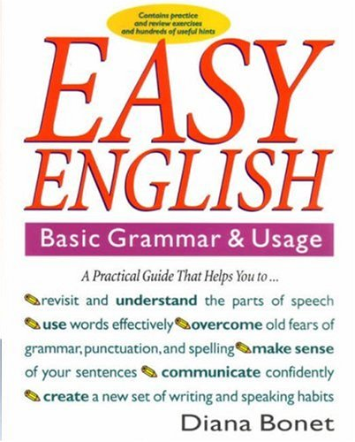 Easy English : Basic Grammar and Usage  1993 edition cover
