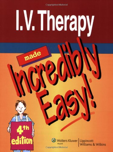I. V. Therapy  4th 2010 (Revised) edition cover