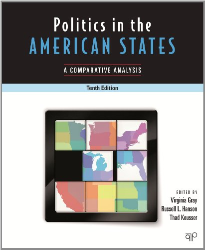 Politics in the American States A Comparative Analysis 10th 2013 (Revised) edition cover