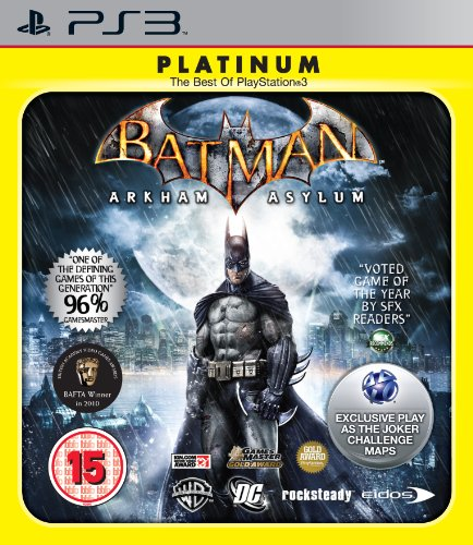 Batman: Arkham Asylum - Platinum (PS3) by Square Enix PlayStation 3 artwork
