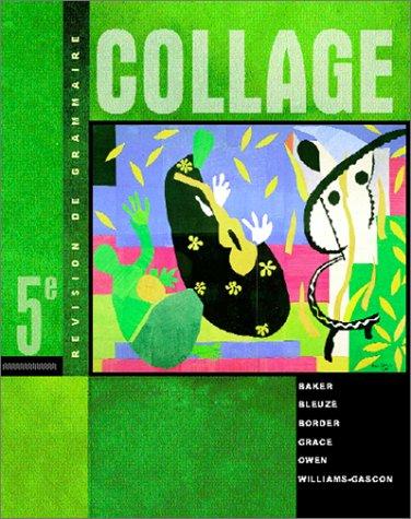 Collage Revision de Grammaire 5th 2001 edition cover