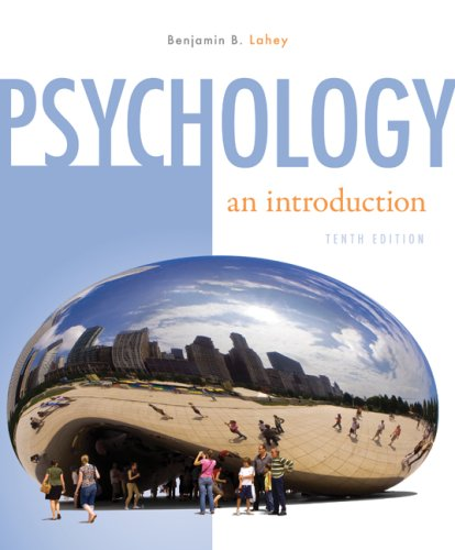 Psychology An Introduction 10th 2009 edition cover