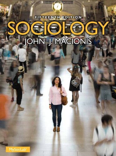 Sociology  15th 2014 edition cover