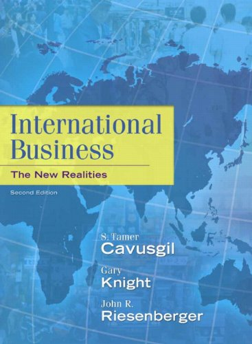 International Business The New Realities 2nd 2012 (Revised) edition cover