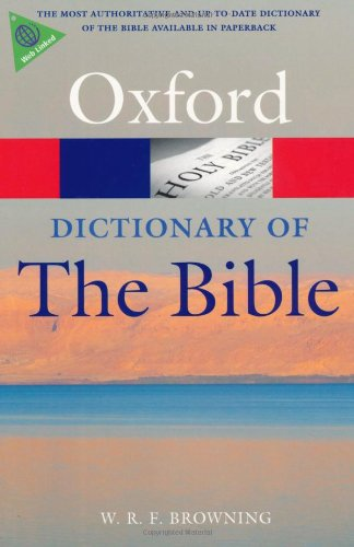 Dictionary of the Bible  2nd 2009 edition cover