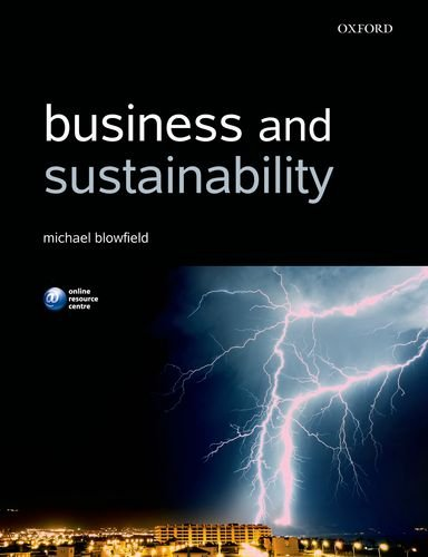 Business and Sustainability   2012 edition cover