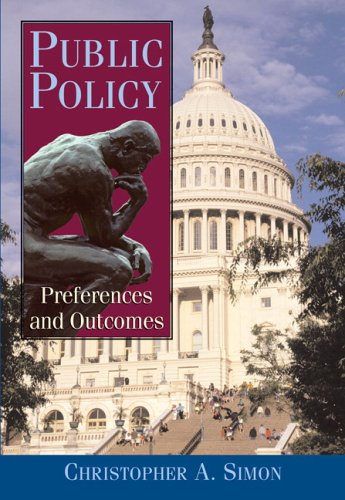 Public Policy   2007 9780321117984 Front Cover